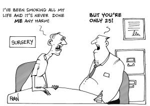 Smoking doesn't do harm